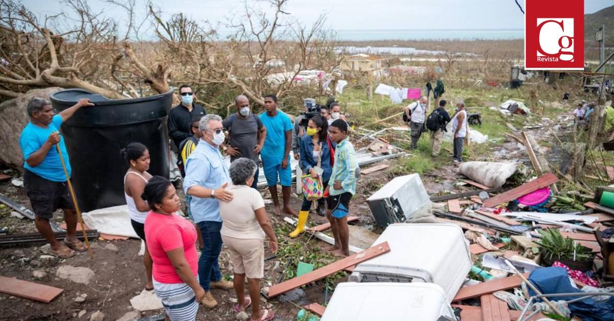 Gobierno concluyó caracterización de viviendas afectadas y avanza en remoción de escombros en Providencia