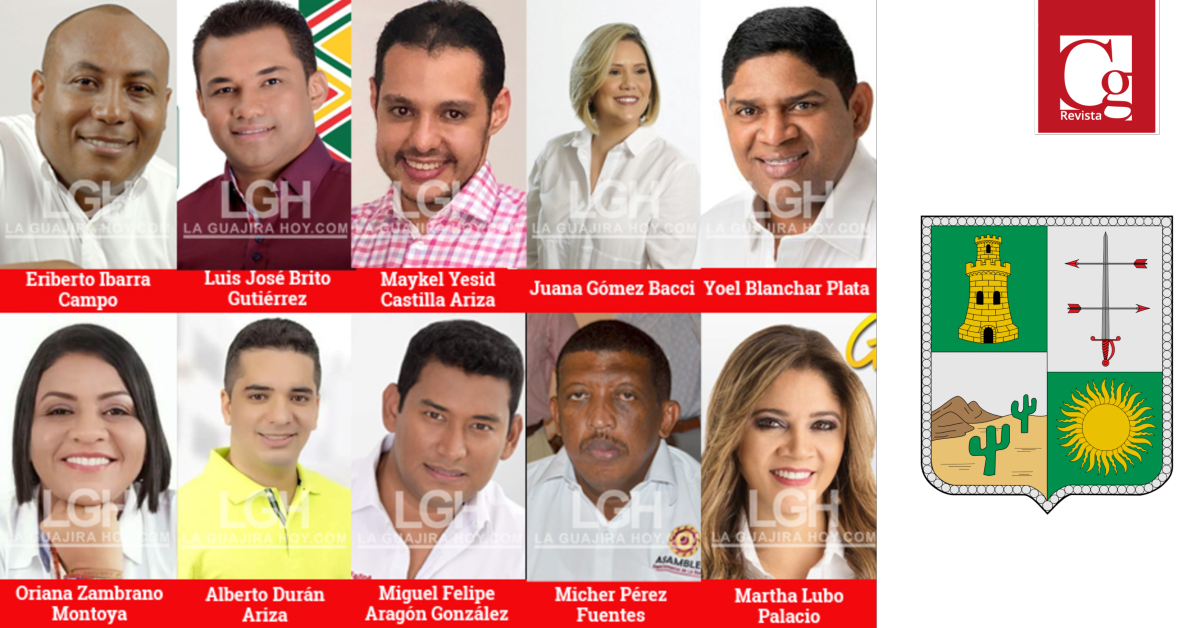 Nueva mesa directiva de la Asamblea Departamental de La Guajira
