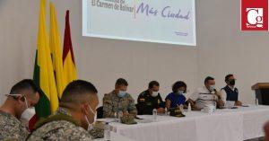 Armada refuerza seguridad y reafirma acompañamiento a Montes de María
