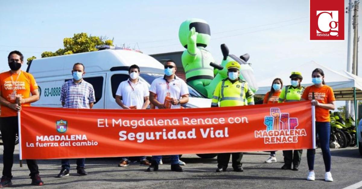 Oficina de Tránsito y Transporte del Magdalena realizó campaña por la seguridad de todos los viajeros