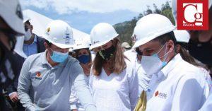 Se unieron dos frentes del último túnel del proyecto 'Cruce de la Cordillera Central'