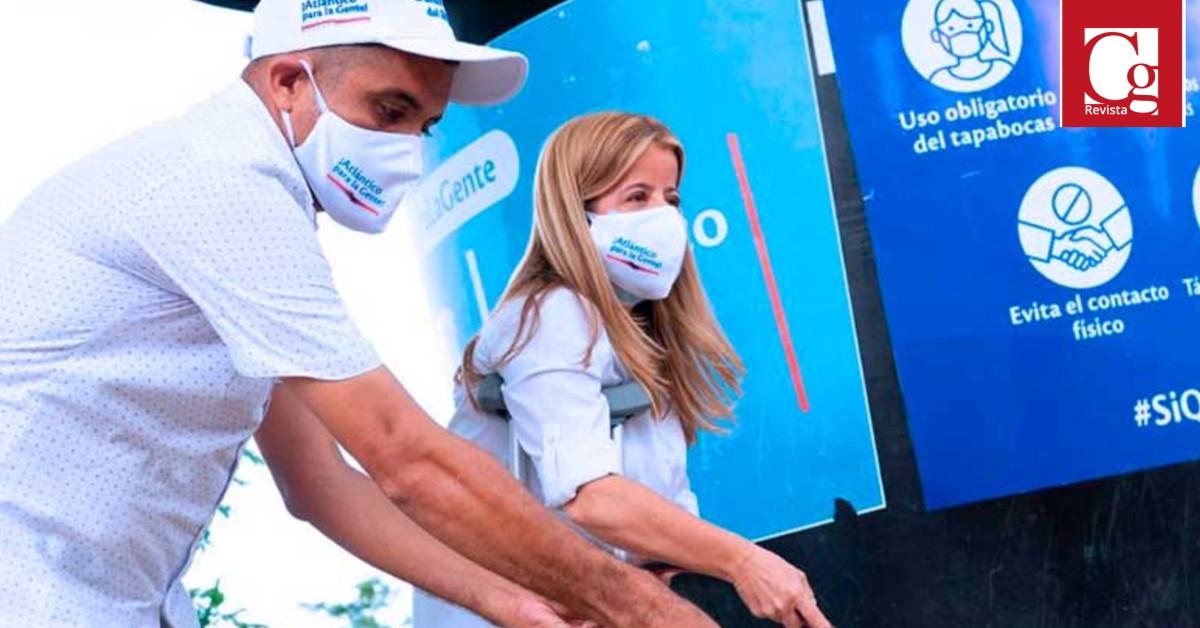 Gobernación del Atlántico entrega agua potable a comunidades rurales