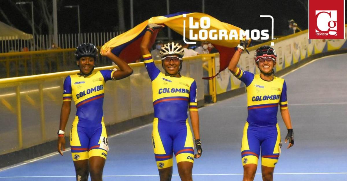 Ibagué y el Tolima fueron campeones del Panamericano de Patinaje 2021