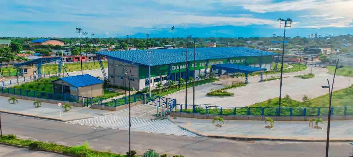El municipio cuenta con una moderna terminal de transporte.