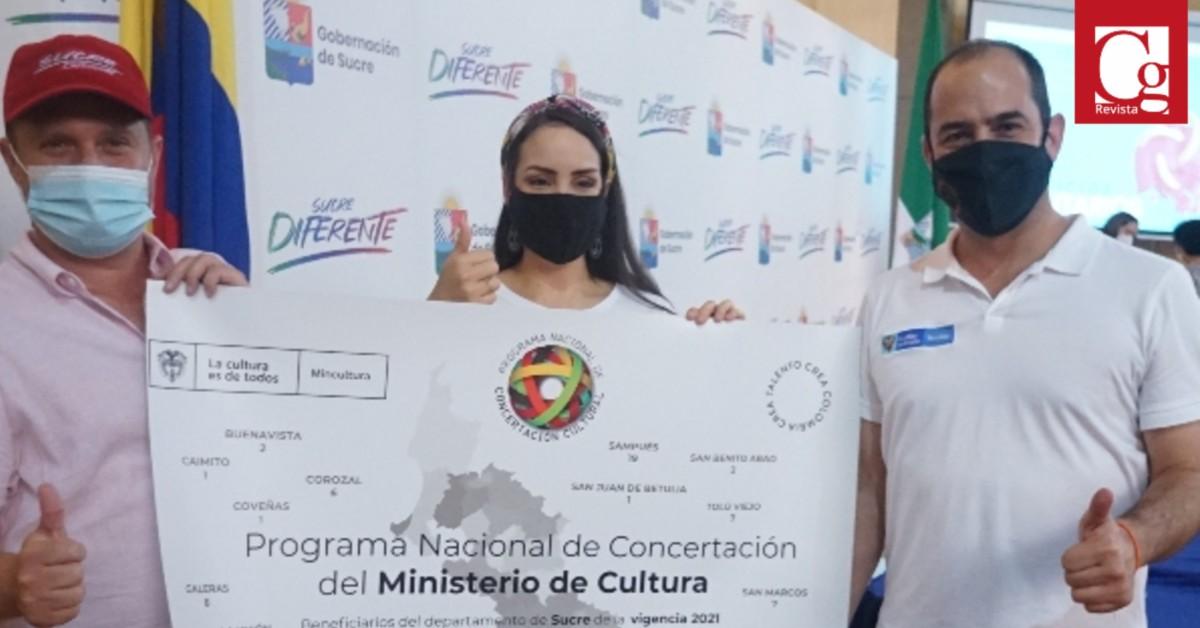En Sucre, el Programa Nacional de Concertación Cultural apoyará 108 proyectos