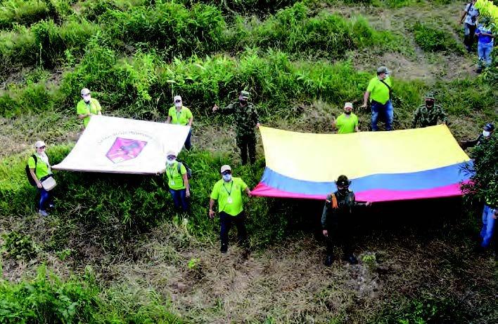 Reconocimiento del Gobierno Nacional a la Administración Municipal por su construcción de paz en el territorio.