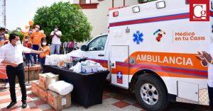 5 mil habitantes de Sabanas y corregimientos cercanos se benefician con ambulancia del Cambio