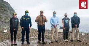 Presidente anuncia desde Malpelo acciones para proteger la isla