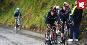 Egan Bernal ascendió a la tercera posición en la clasificación general del Giro de Italia