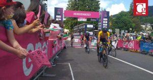 Didier Merchán, tercero en la octava etapa del Giro de Italia Sub-23