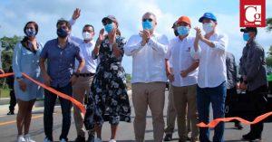 Este Gobierno entregará 20 de 29 vías 4G, dice Duque al poner en servicio tramo de doble calzada entre Barranquilla y Cartagena