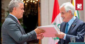 Colombia y Chile fortalecerán lazos en Visita Oficial del Presidente Sebastián Piñera