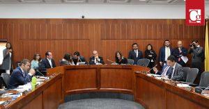 Debate sobre cambio climático en la Comisión V