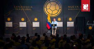 Barranquilla es la sede para siempre de la Selección Colombia, afirmó Presidente Duque